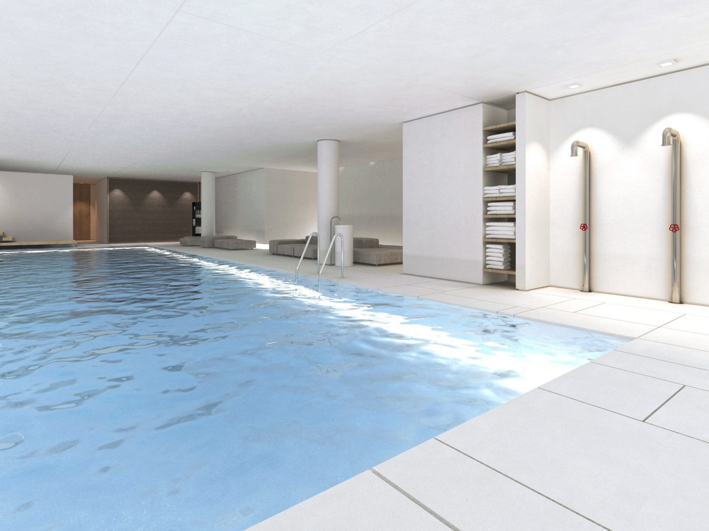 Amsterdam Hip Hotels Modern Pool The Netherlands indoor wall property floor ceiling flooring Architecture swimming pool daylighting real estate interior design professional facade estate