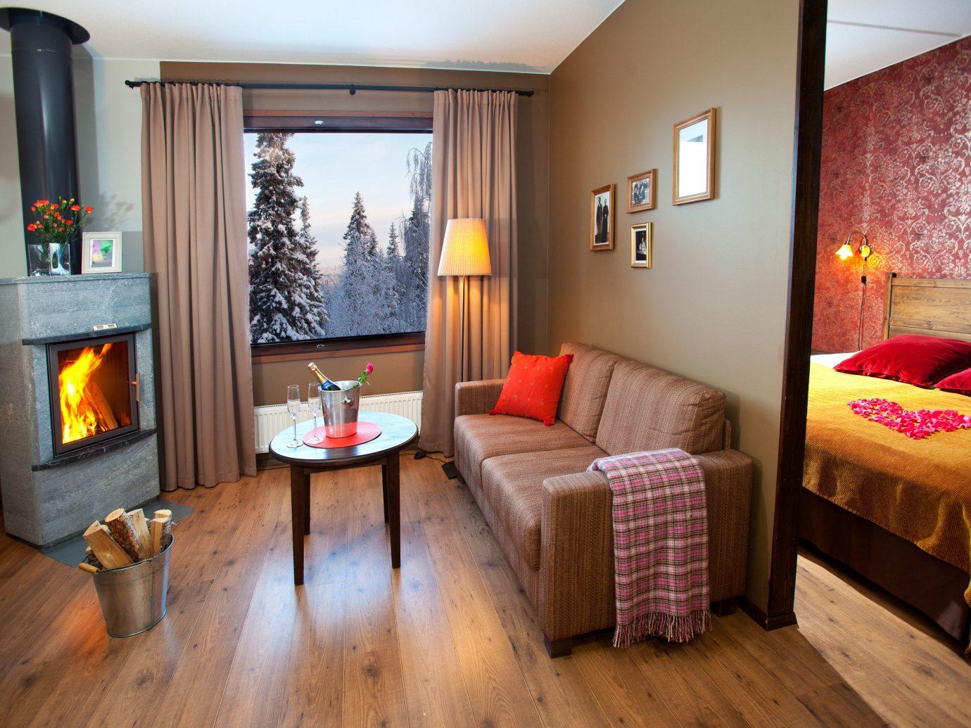 Trip Ideas floor indoor wall Living room property living room estate Suite cottage hardwood home real estate interior design furniture Bedroom wood flooring wood area decorated