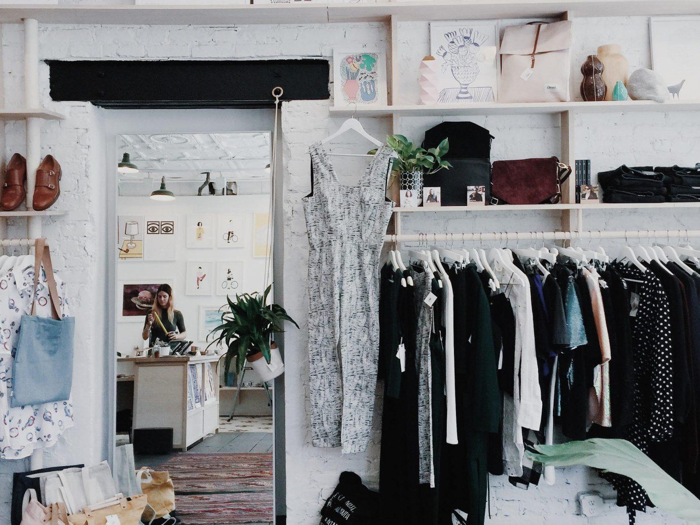 Style + Design room indoor Boutique furniture closet interior design wardrobe