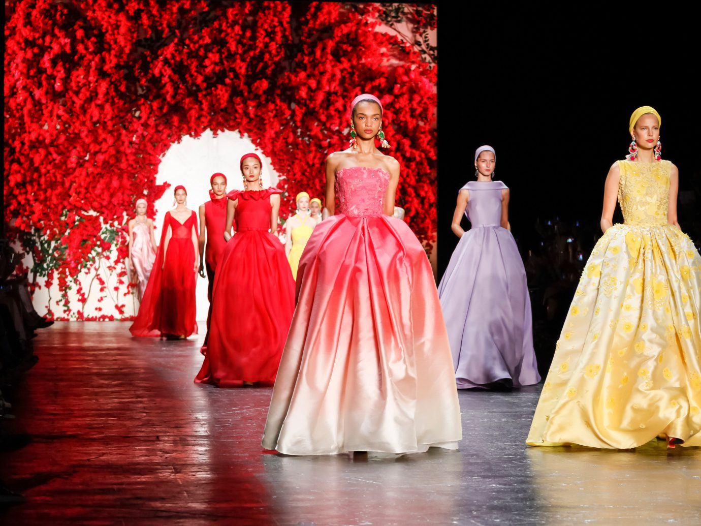 Arts + Culture color Sport indoor performing arts red dance fashion performance art Entertainment dancer quinceañera dress gown musical theatre sports dressed