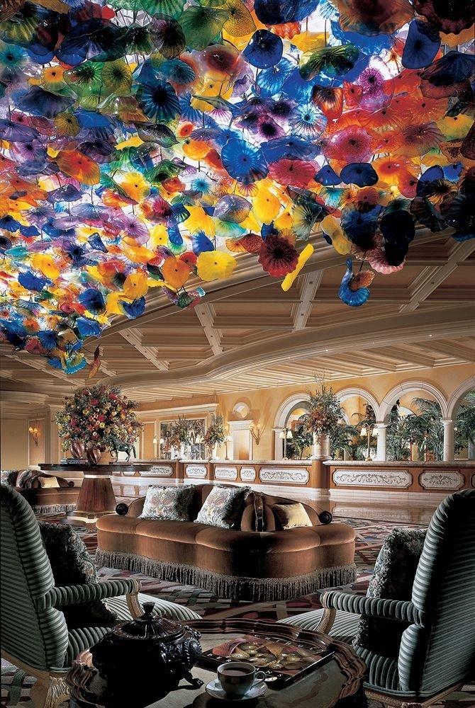 Hotels indoor art colorful decorated