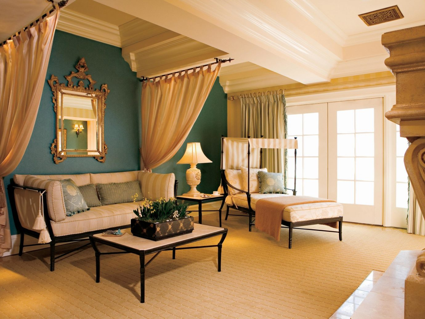 Living Room At Fairmont Grand Del Mar In San Diego, Ca, Usa