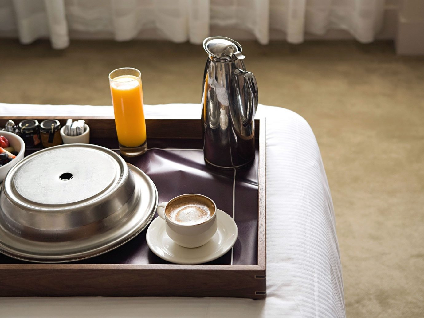 Offbeat table indoor coffee cup floor meal Drink food breakfast