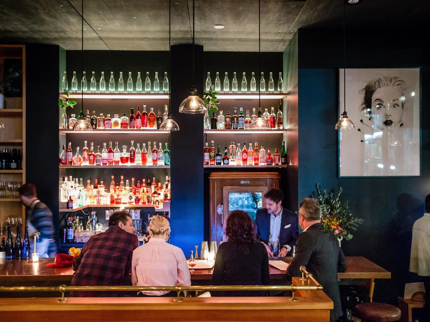 Food + Drink Portland, Oregon Trip Ideas person indoor Bar Drink restaurant distilled beverage
