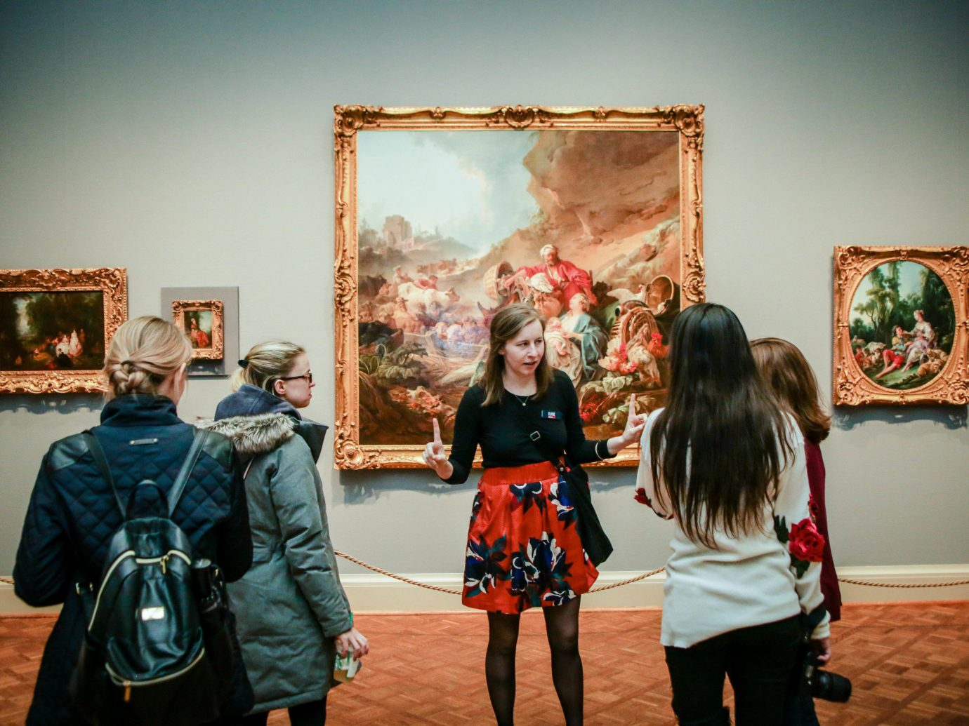 Trip Ideas person indoor room scene tourist attraction gallery art art gallery exhibition painting museum fun event Family