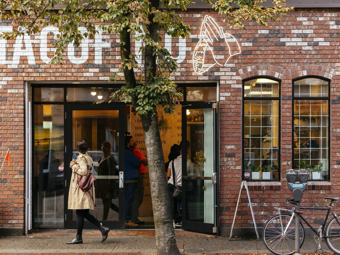 Trip Ideas building outdoor neighbourhood urban area road Town City sidewalk street brick Downtown facade infrastructure shopping