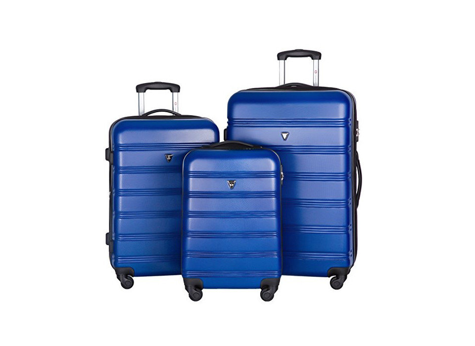 Merax Travelhouse Luggage Set, Packing Tips Style + Design Travel Shop luggage suitcase cobalt blue blue electric blue accessory product hand luggage product design luggage & bags baggage case colored