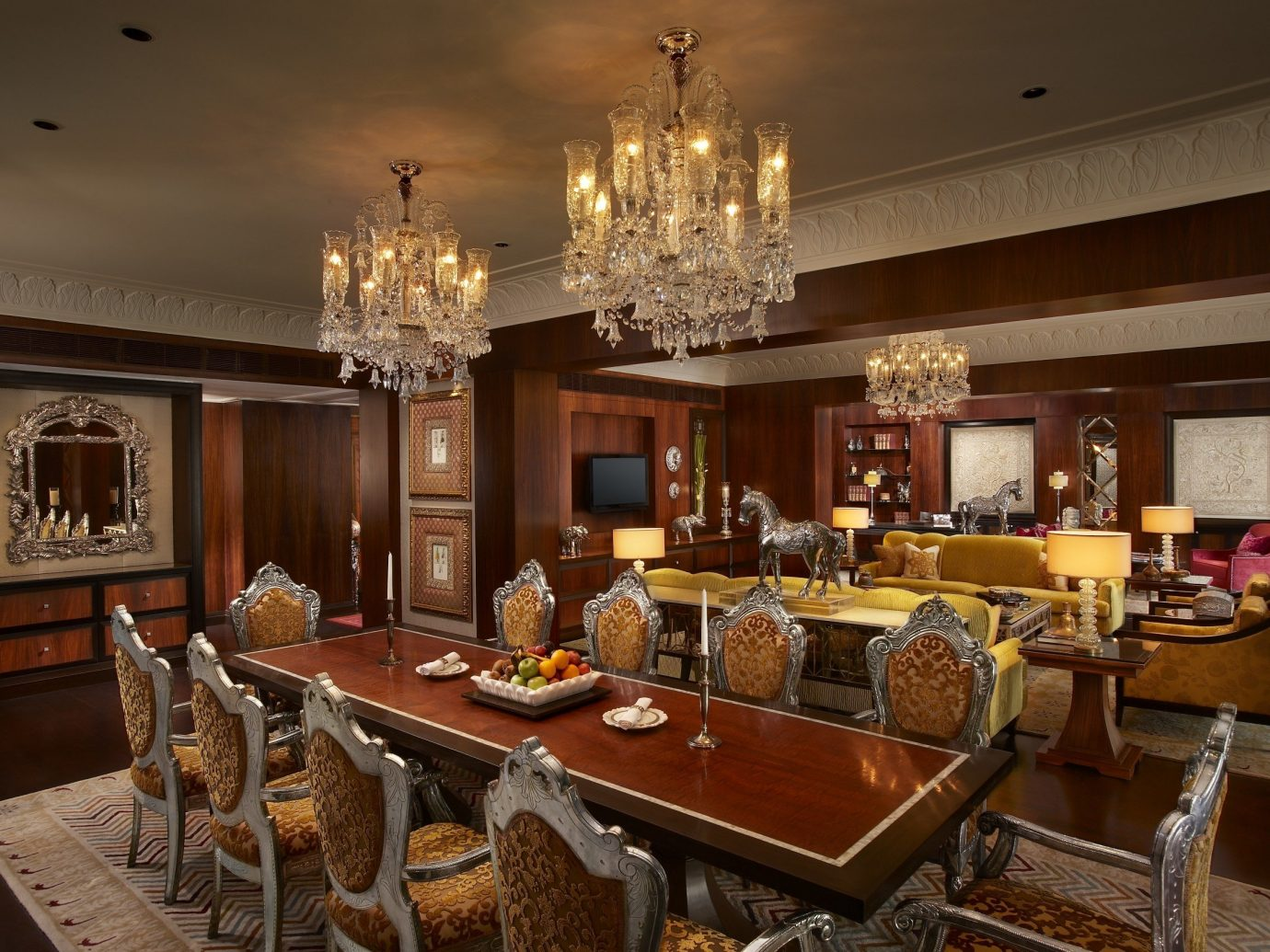 Hotels Luxury Travel indoor dining room room ceiling interior design counter living room restaurant Bar table estate