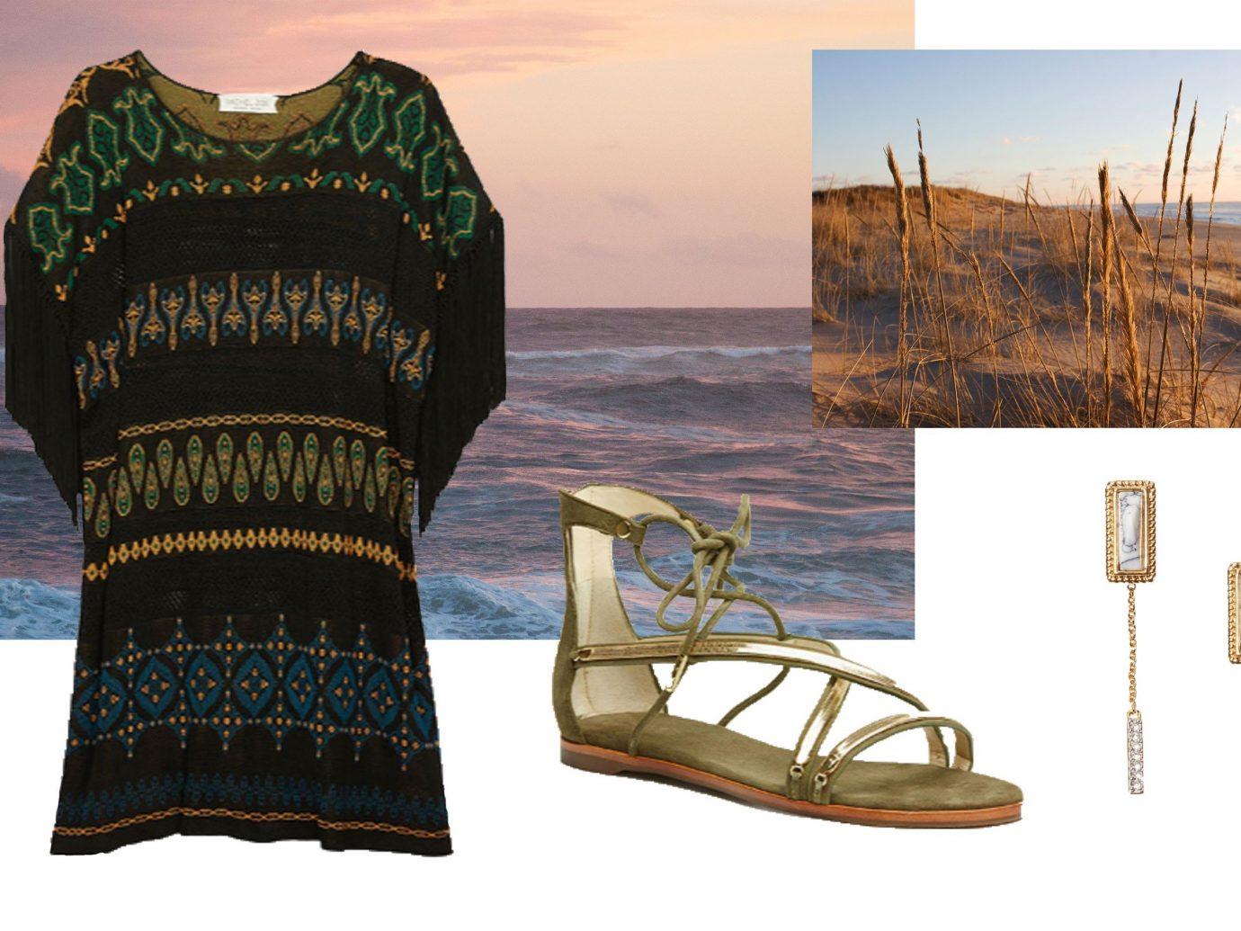 Jetsetter Guides sky water clothing footwear art brand Design pattern t shirt illustration textile