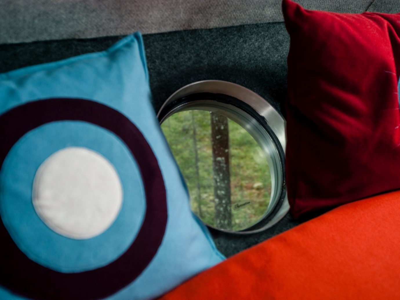 Boutique Hotels Sweden blue red textile product material circle font