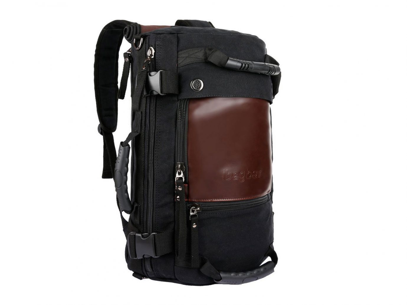 Style + Design luggage suitcase bag piece suit backpack leather accessory stacked