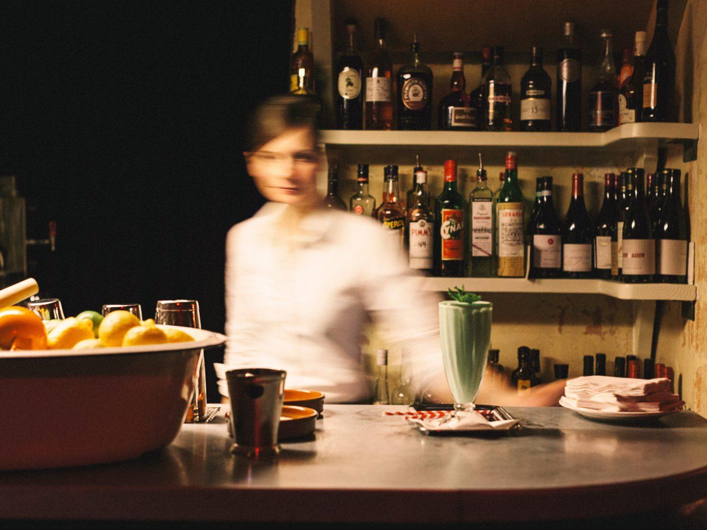 Jetsetter Guides Road Trips bottle indoor Kitchen counter Bar Drink sense restaurant cooking meal
