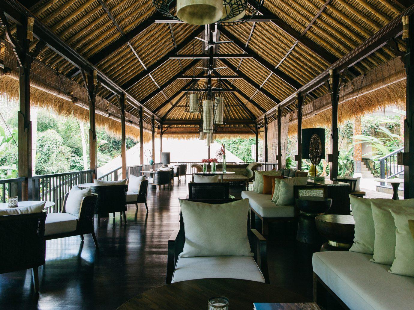 Health + Wellness Hotels indoor floor room restaurant estate Resort meal interior design furniture area several