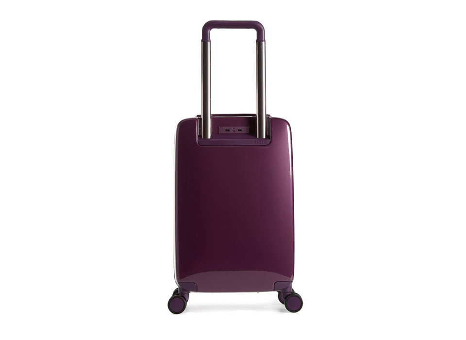 Packing Tips Travel Shop Travel Tech Travel Tips purple product suitcase product design hand luggage magenta