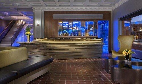 Jetsetter Guides indoor floor wall ceiling Living window room recreation room billiard room Lobby yacht interior design screenshot Resort Bar swimming pool estate furniture