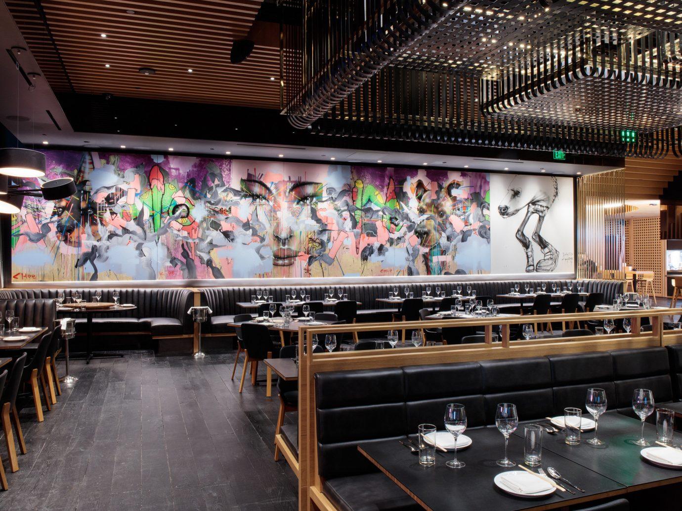Food + Drink indoor meal restaurant Bar stage several