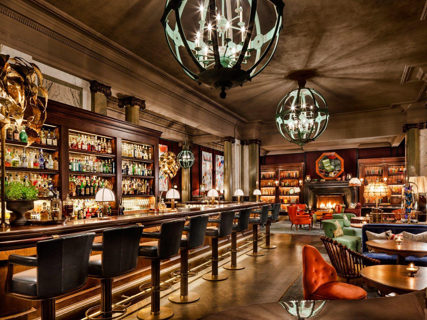 Food + Drink Trip Ideas indoor ceiling Bar interior design store restaurant pub tavern several