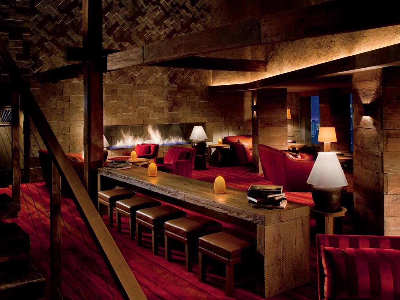 Bar Boutique Hotels Dining Drink Eat Living Lounge Luxury Luxury Travel Modern indoor restaurant interior design screenshot basement several