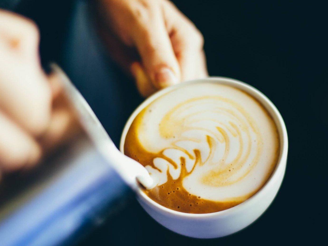Food + Drink Offbeat Travel Trends cup coffee latte flat white Drink food cappuccino espresso caffè macchiato caffeine coffee cup coffee milk cuban espresso flavor ristretto café au lait mocaccino beverage close