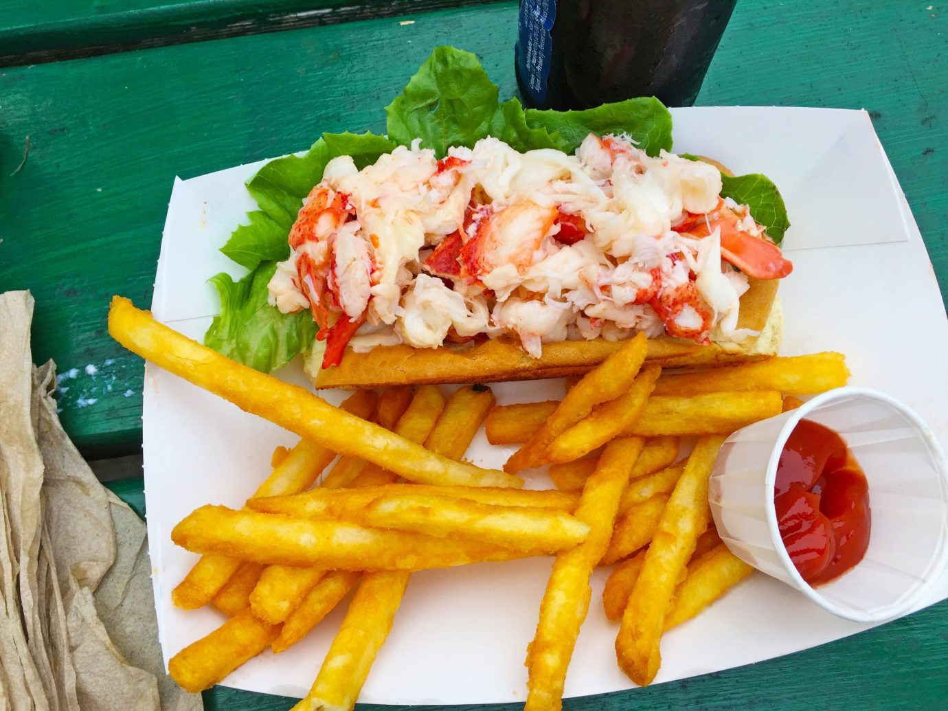 Food + Drink food table fries dish indoor french fries cuisine fish meal Seafood produce fast food side dish sliced