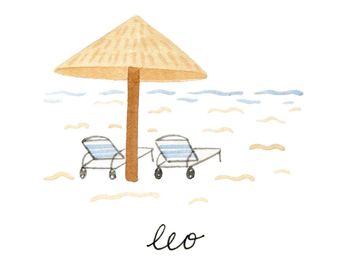 Trip Ideas product lighting umbrella shape illustration