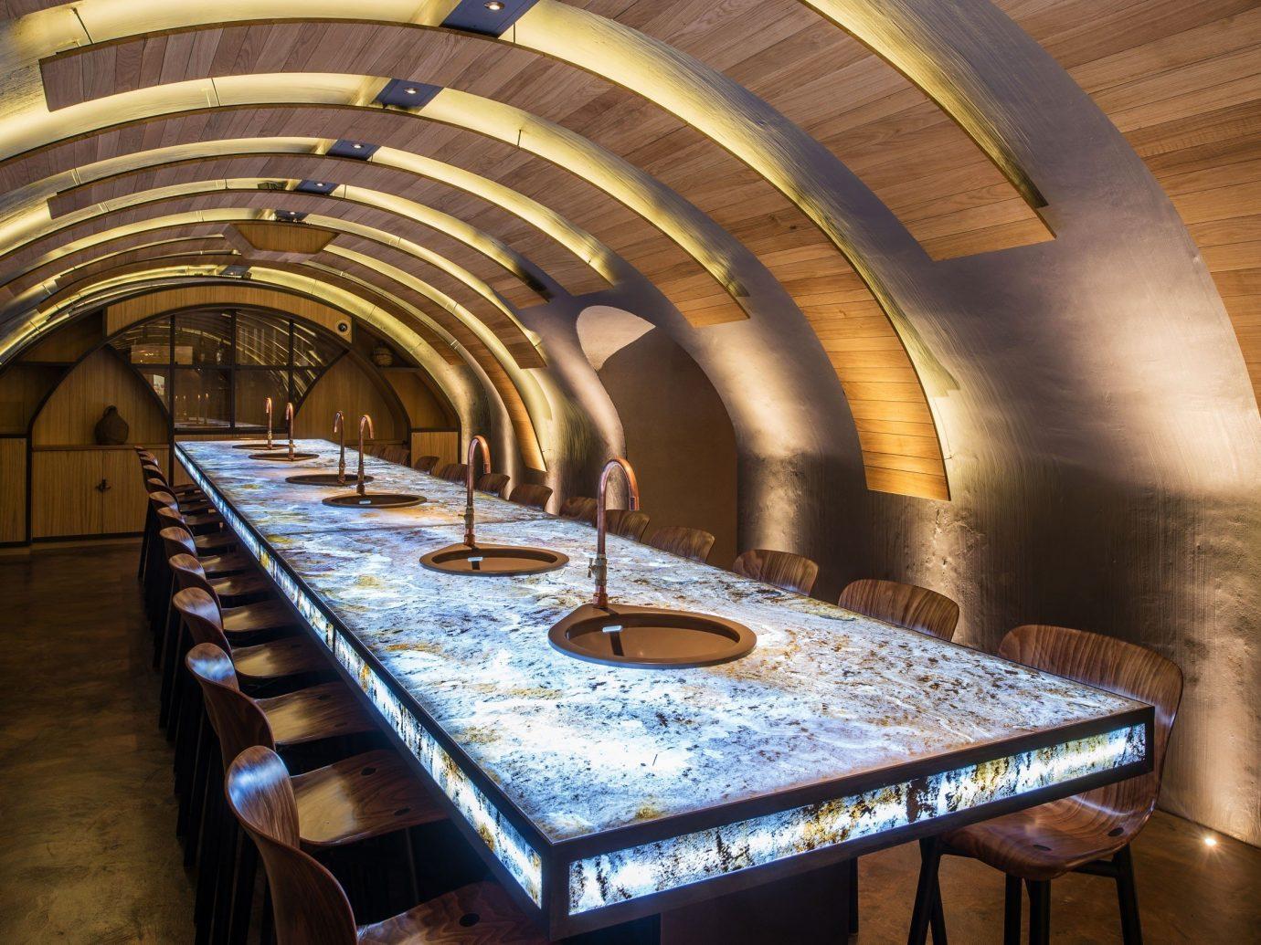 Trip Ideas indoor floor estate auditorium interior design wood arch