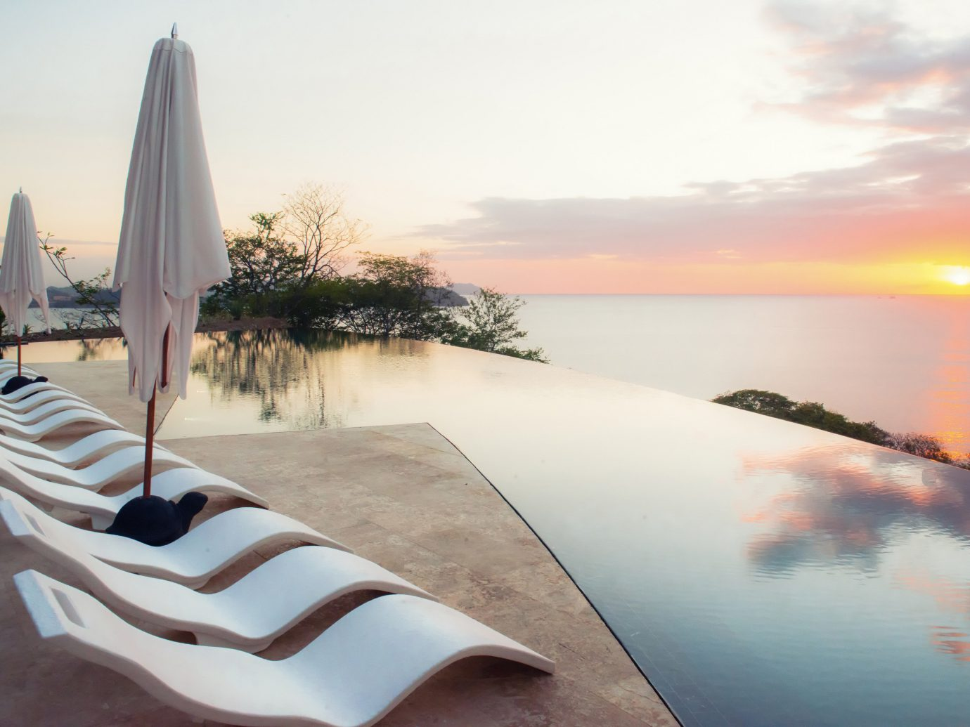 Infinity Pool At Adults Only Casa Chameleon Hotel In Costa Rica