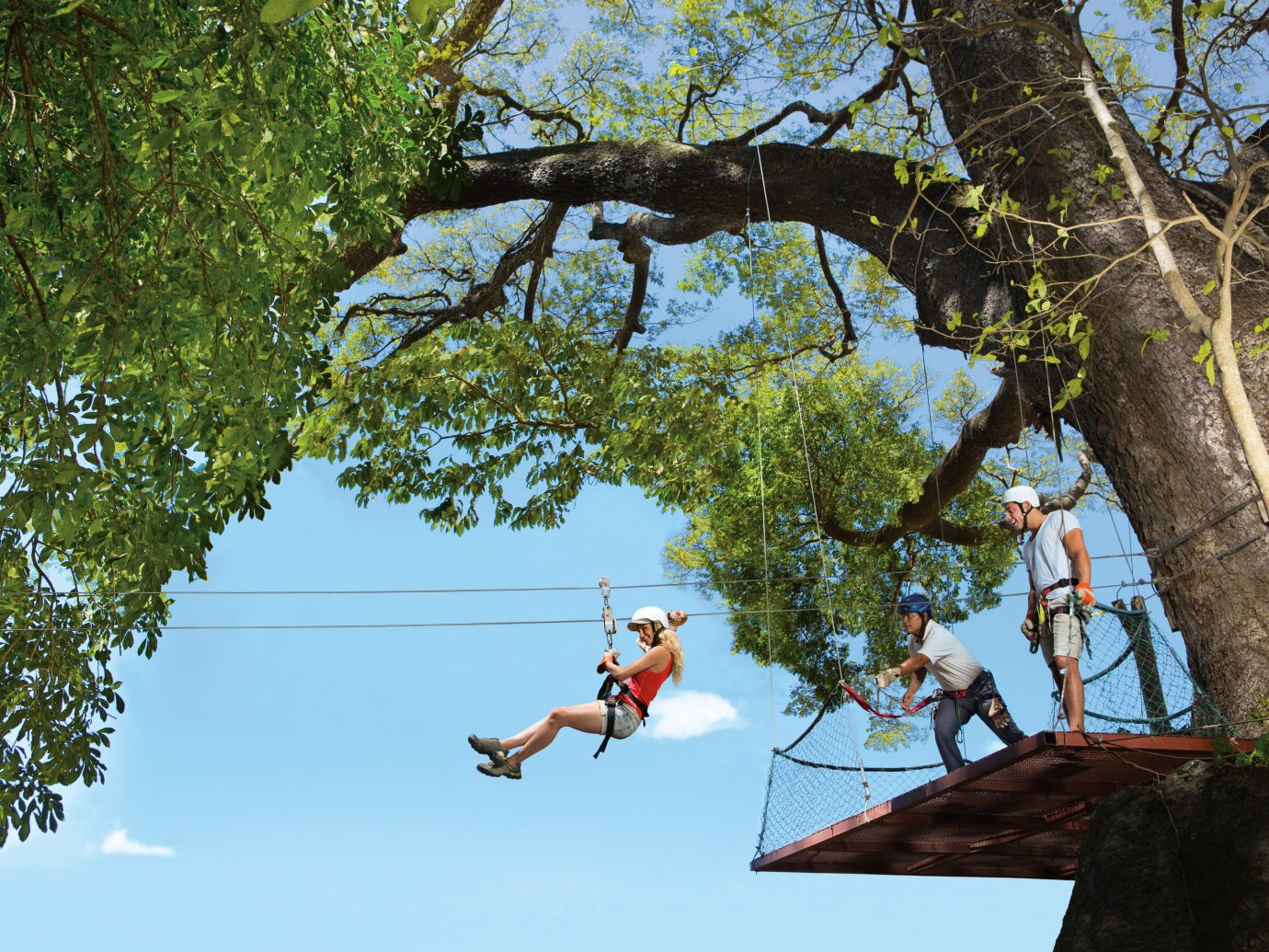 Ziplining in Guanacaste, Costa Rica
