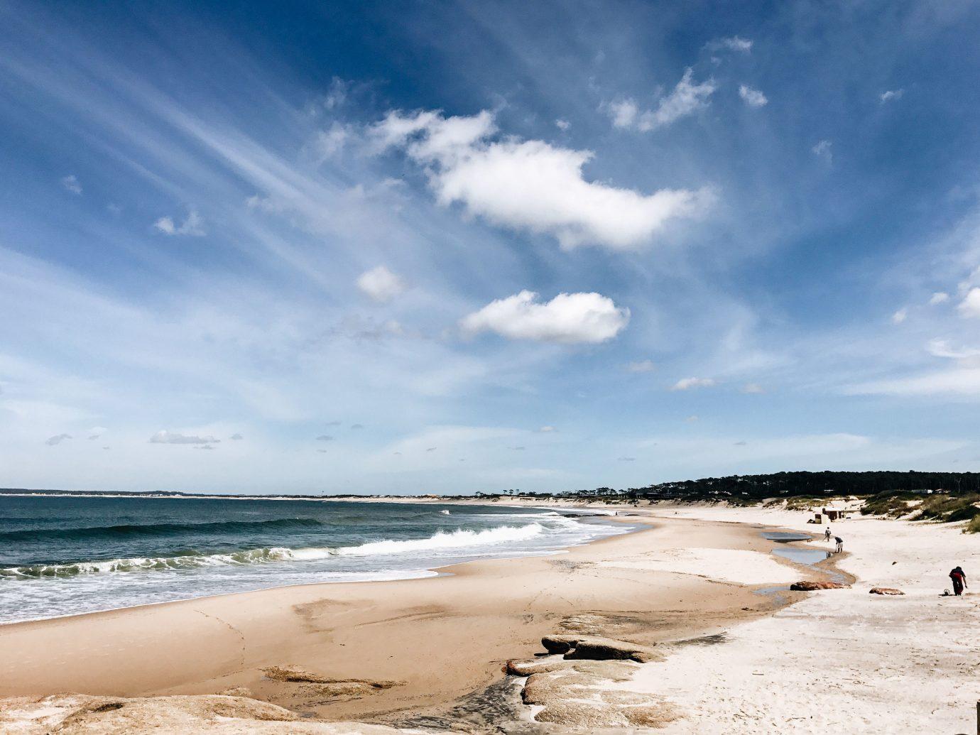 Romantic Getaways south america Trip Ideas Uruguay sky Sea cloud Beach shore coastal and oceanic landforms Coast body of water Ocean horizon water wave wind wave sand daytime meteorological phenomenon calm bay vacation tide cape