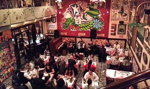 Food + Drink person scene restaurant Bar crowd pub recreation