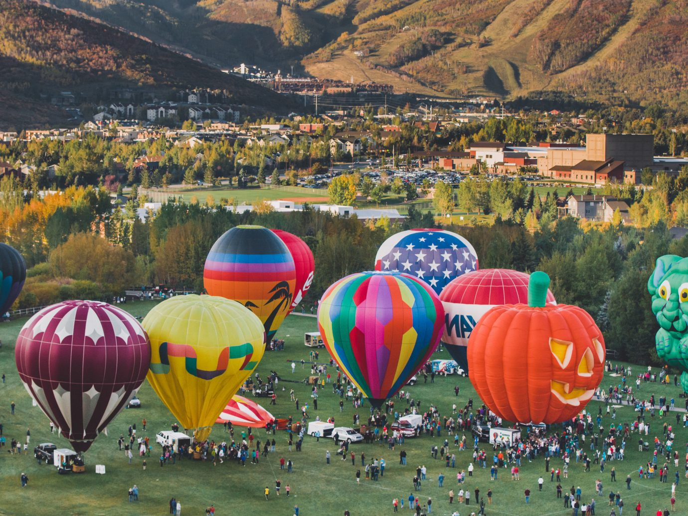 Trip Ideas aircraft balloon transport mountain hot air ballooning Hot Air Balloon colorful vehicle atmosphere of earth toy colored colors painting