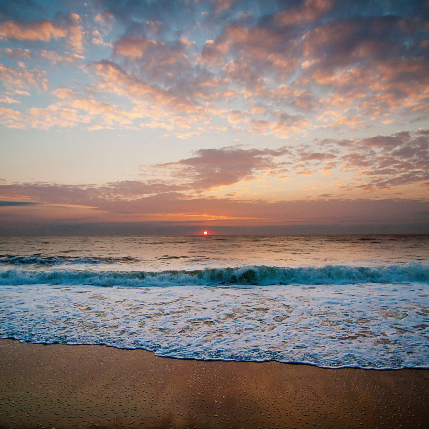 Romance Trip Ideas Weekend Getaways outdoor sky water Beach Sea cloud shore Ocean horizon Sunset body of water sunrise Nature Coast dawn wave morning wind wave afterglow evening dusk sunlight sand reflection Sun sandy