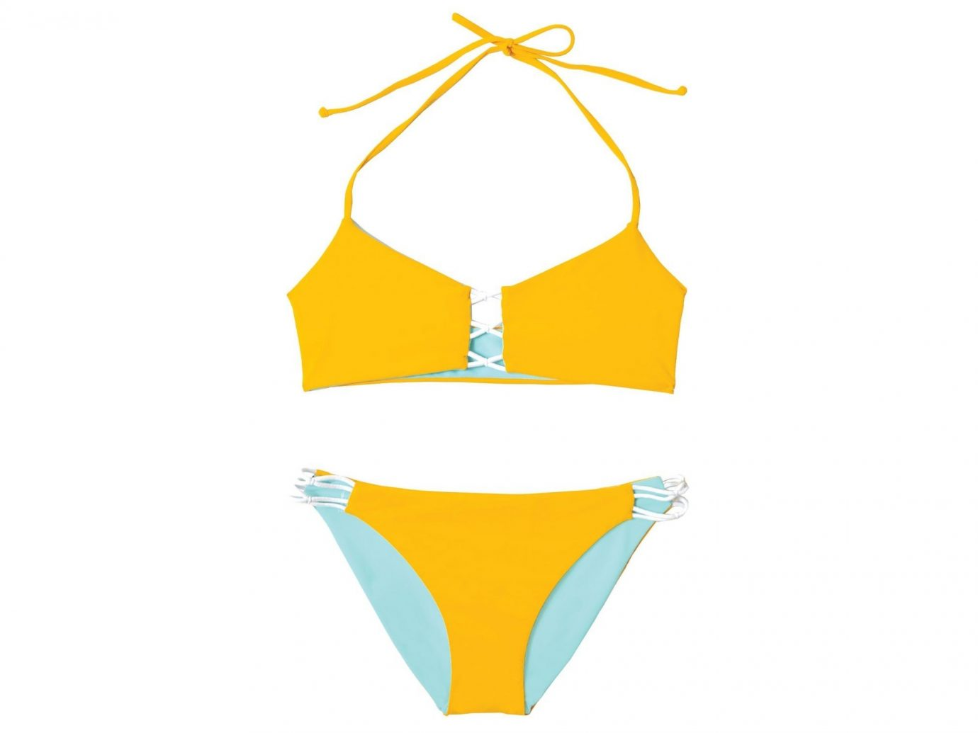 Style + Design clothing yellow product swimwear maillot undergarment hand one piece swimsuit