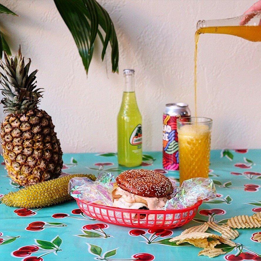 Influencers + Tastemakers wall ananas pineapple indoor food fruit bromeliaceae cuisine breakfast vegetarian food