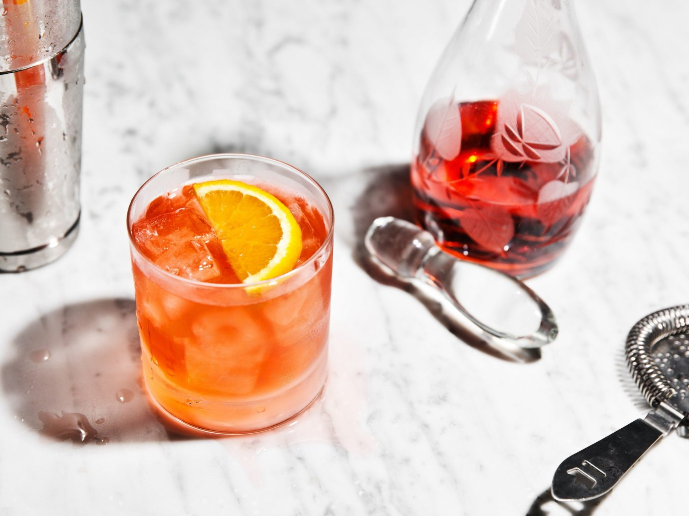 Summer Series cup Drink alcoholic beverage cocktail distilled beverage produce negroni food spritz punch