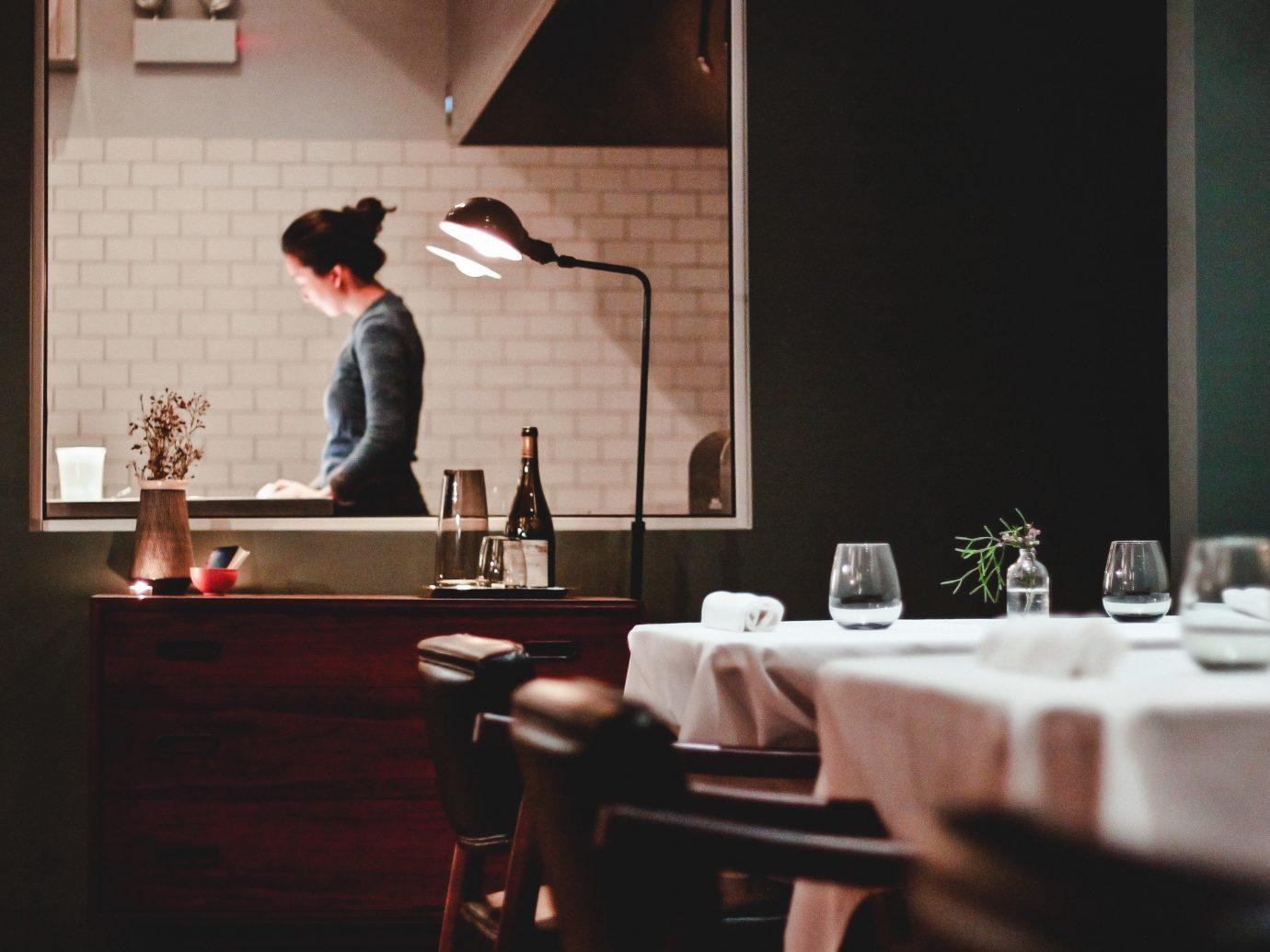 Food + Drink indoor restaurant table furniture interior design