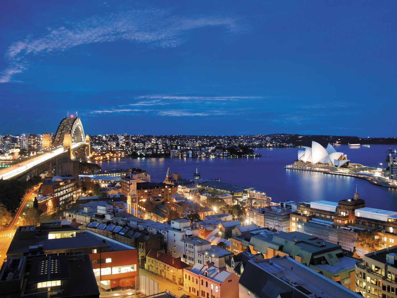 View from Altitude at Shangri-La, Sydney, Australia