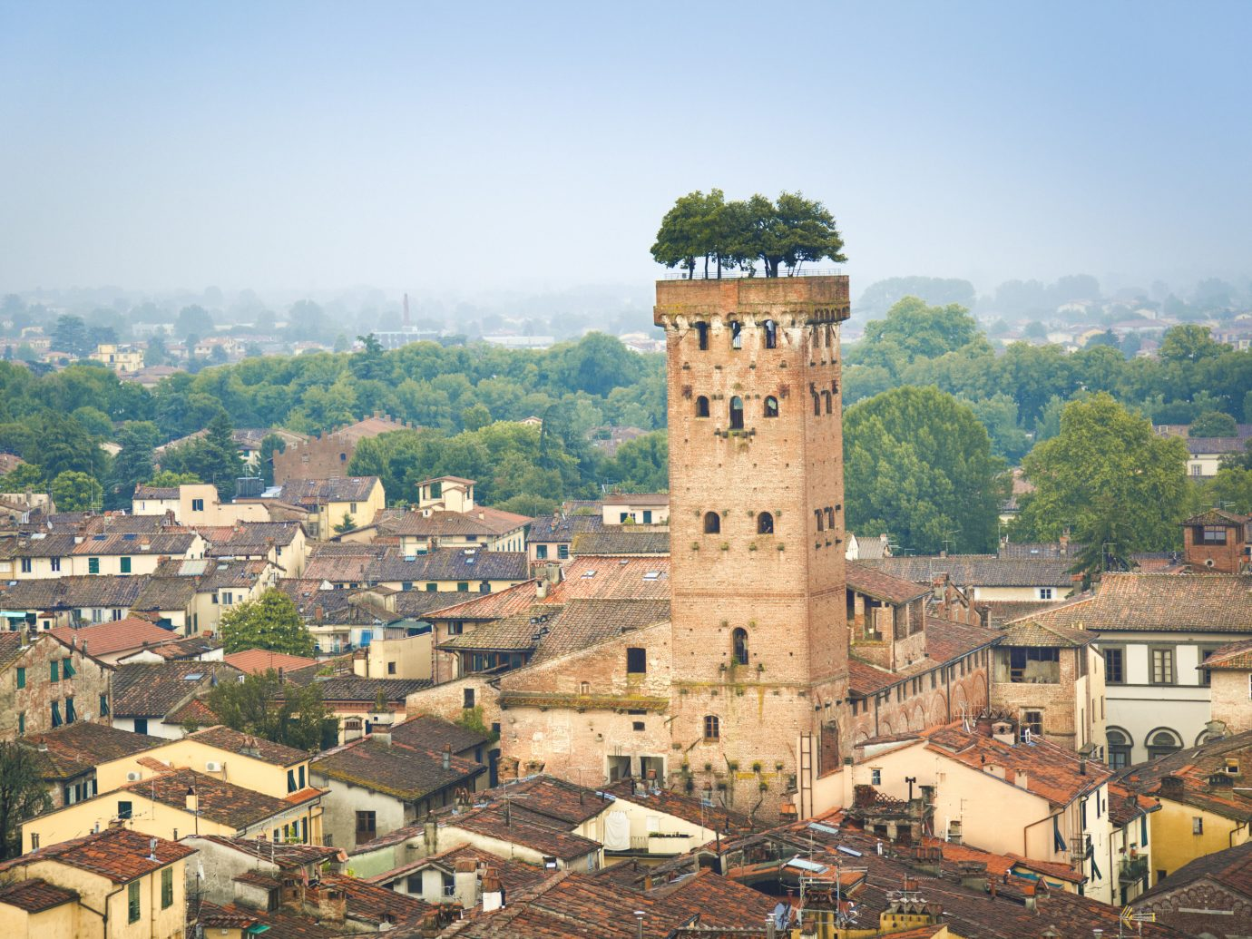 Italy Trip Ideas sky landmark City Town tower urban area tree historic site fortification building château castle ancient history Village history tourism roof middle ages