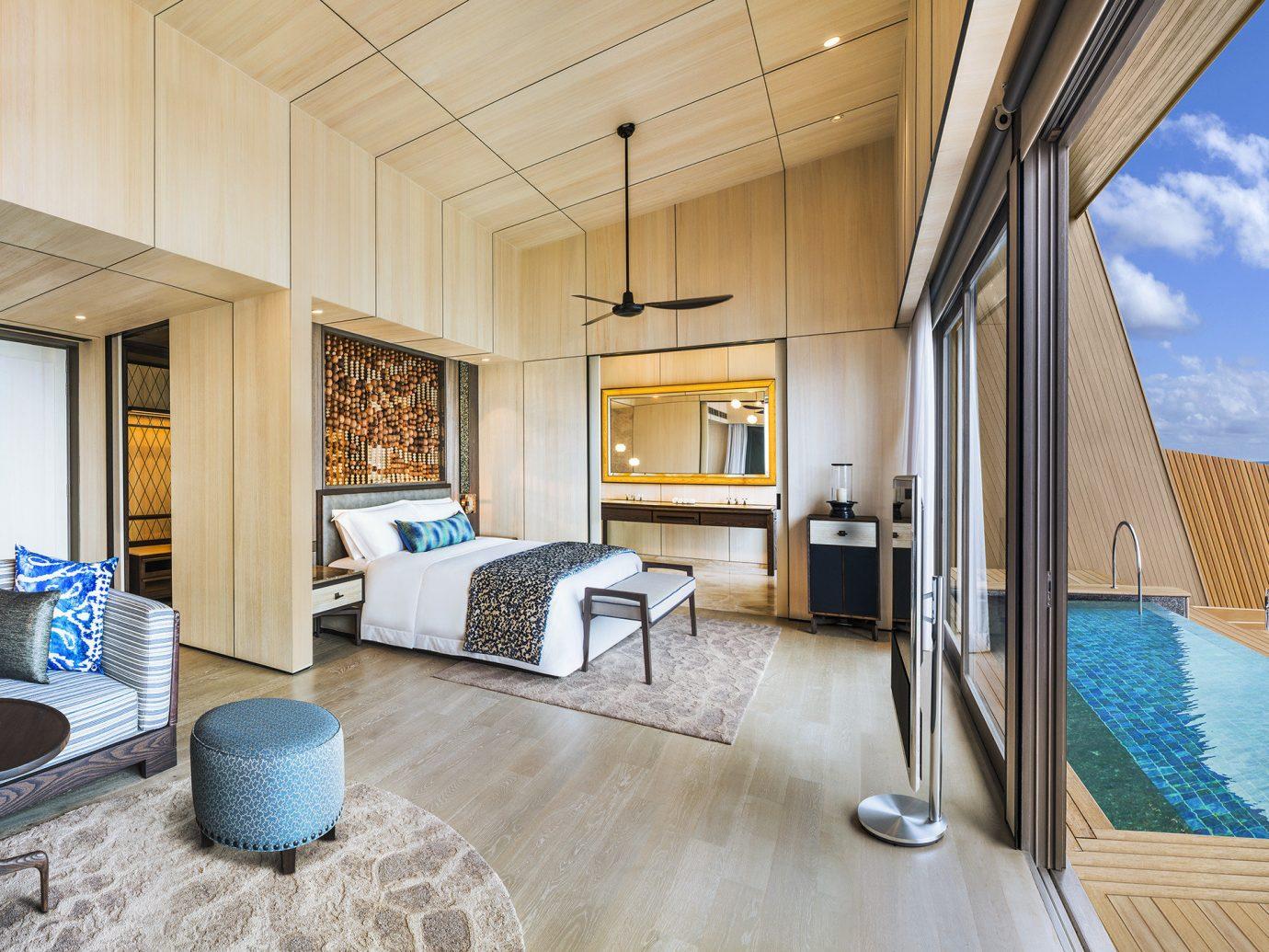 Bedroom at Jumeirah Vittaveli