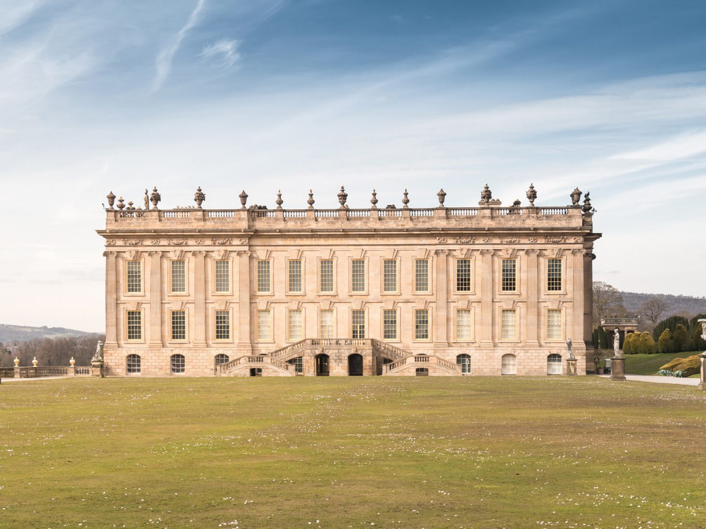 Trip Ideas grass sky outdoor building historic site landmark field château stately home palace fortification estate ancient history castle government building day