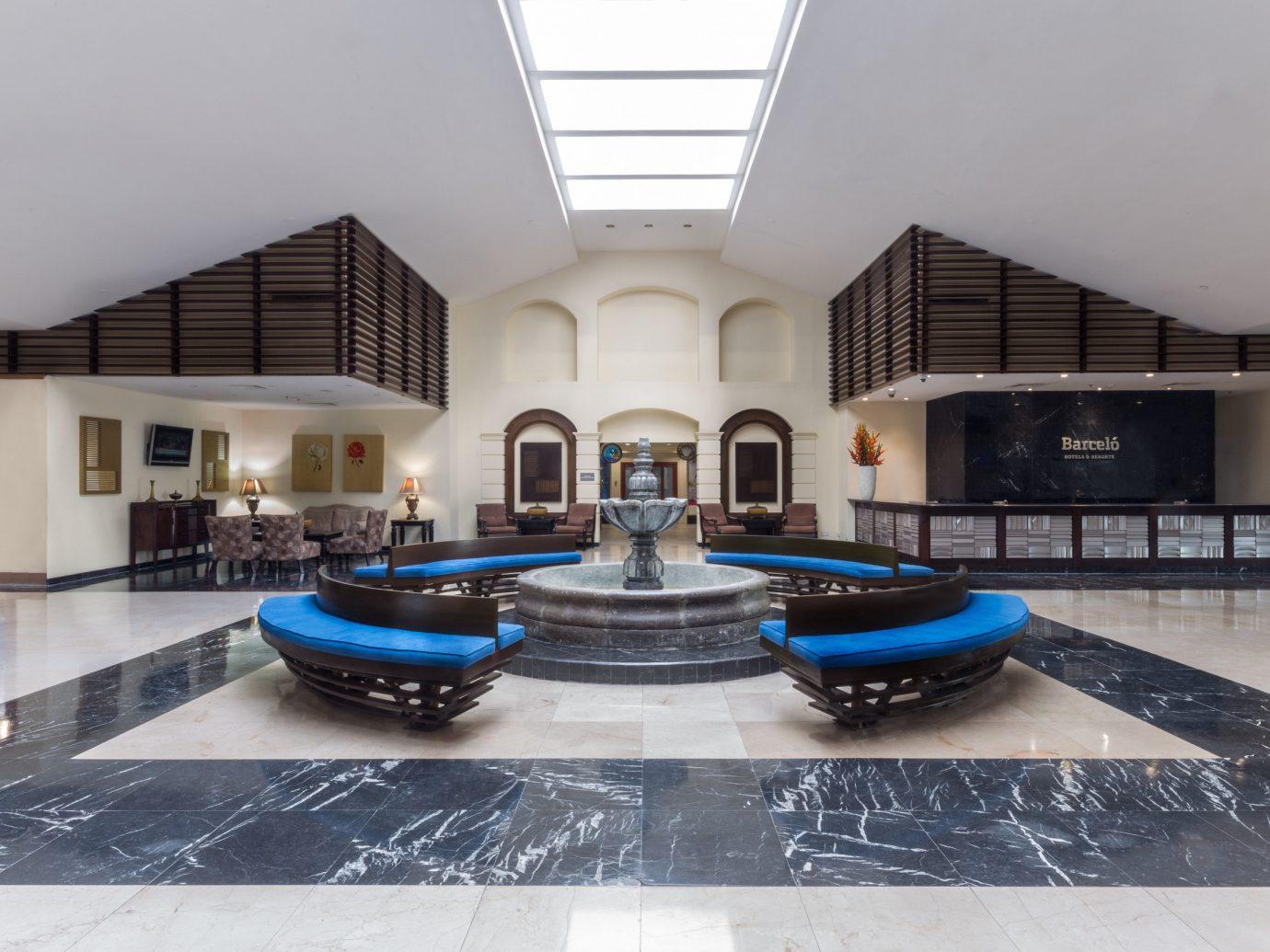 Hotels indoor property room blue floor estate ceiling Lobby interior design mansion flooring