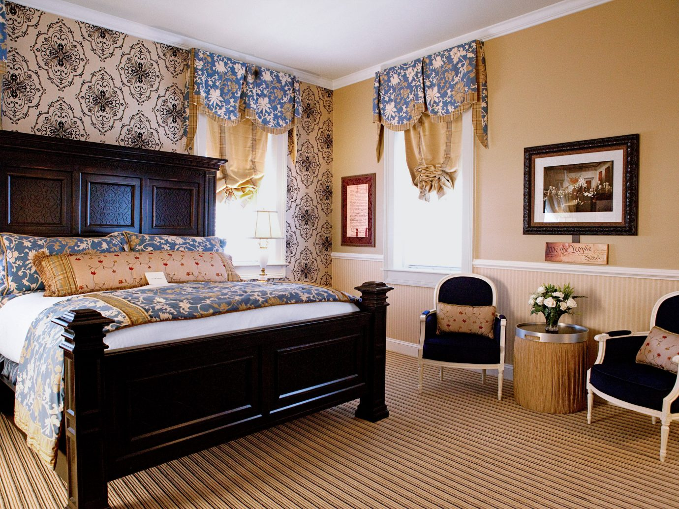 Bedroom at The Vendue in Charlotte.