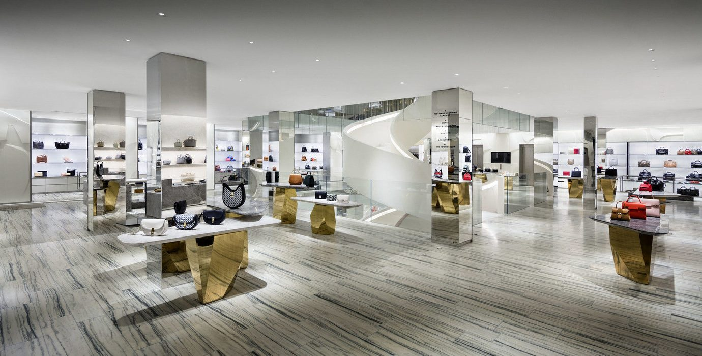 NYC Shops Style + Design indoor interior design exhibition retail product product design furniture