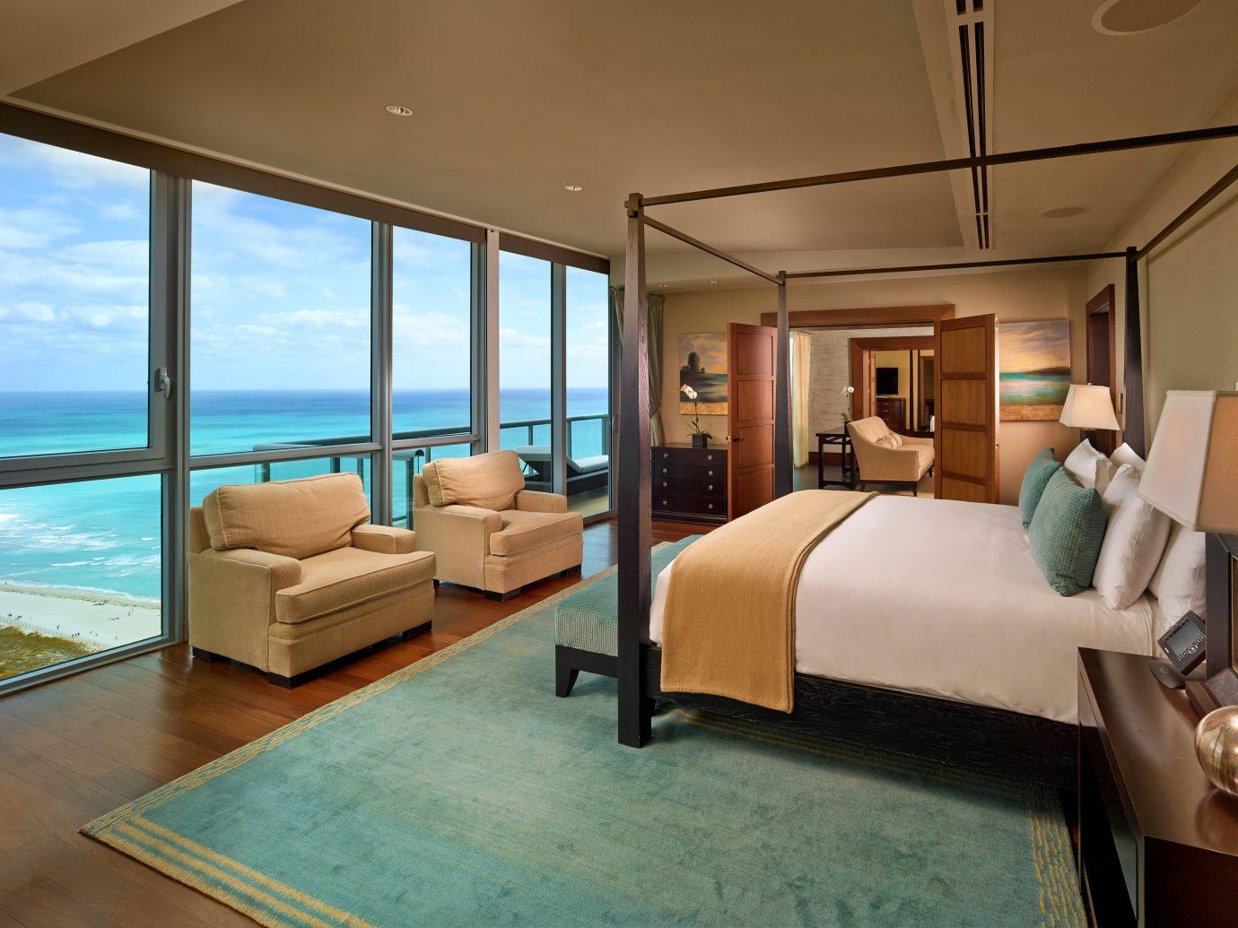 Bedroom at The Setai Miami Hotel