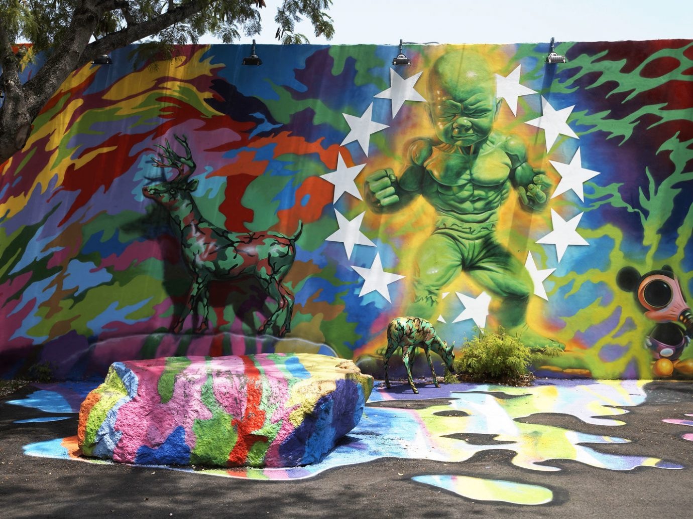art Arts + Culture City city streets city views colorful graffiti rock street art urban color mural painting modern art colored child art psychedelic art painted bedclothes decorated colors