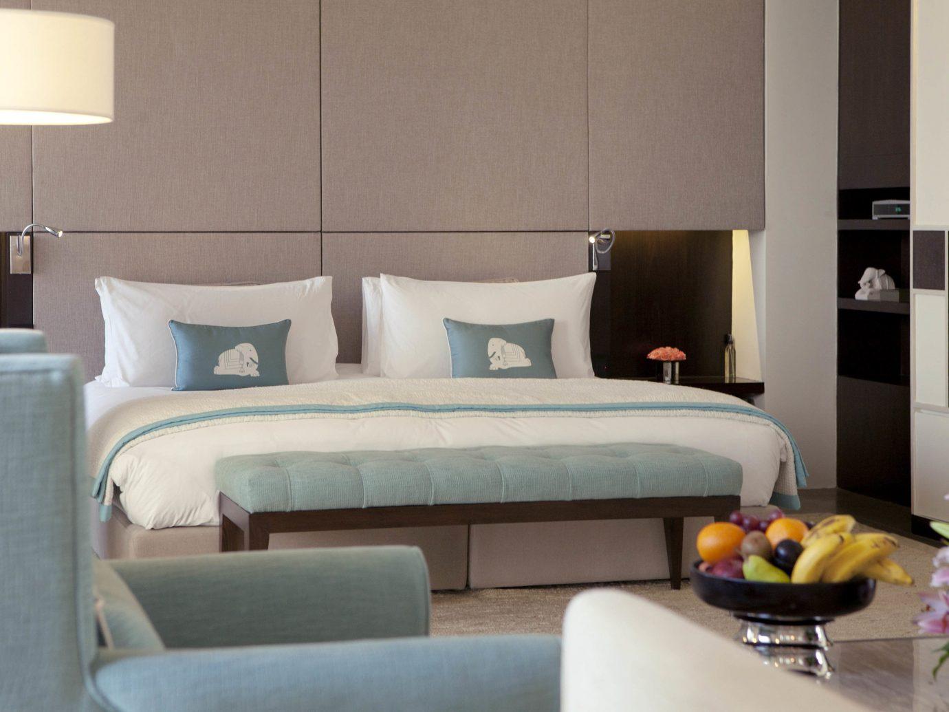 Hotels indoor wall room property living room furniture Bedroom interior design bed Suite bed sheet bed frame hotel studio couch Design apartment Modern