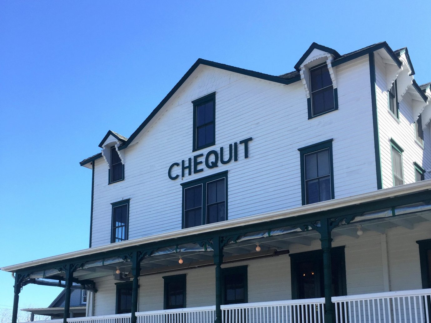 Exterior of The Chequit, Shelter Island, NY
