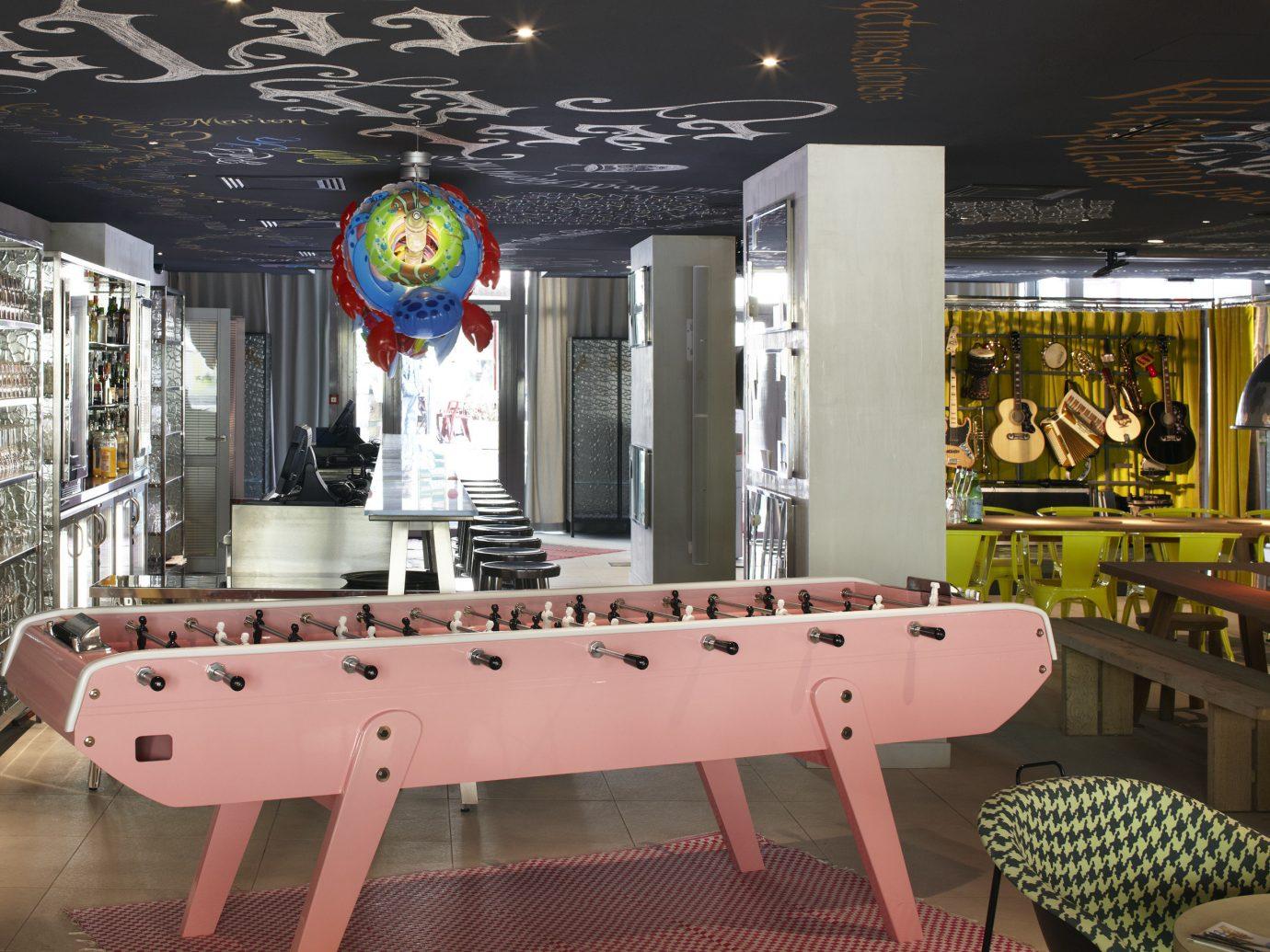 Offbeat indoor restaurant Design interior design Bar