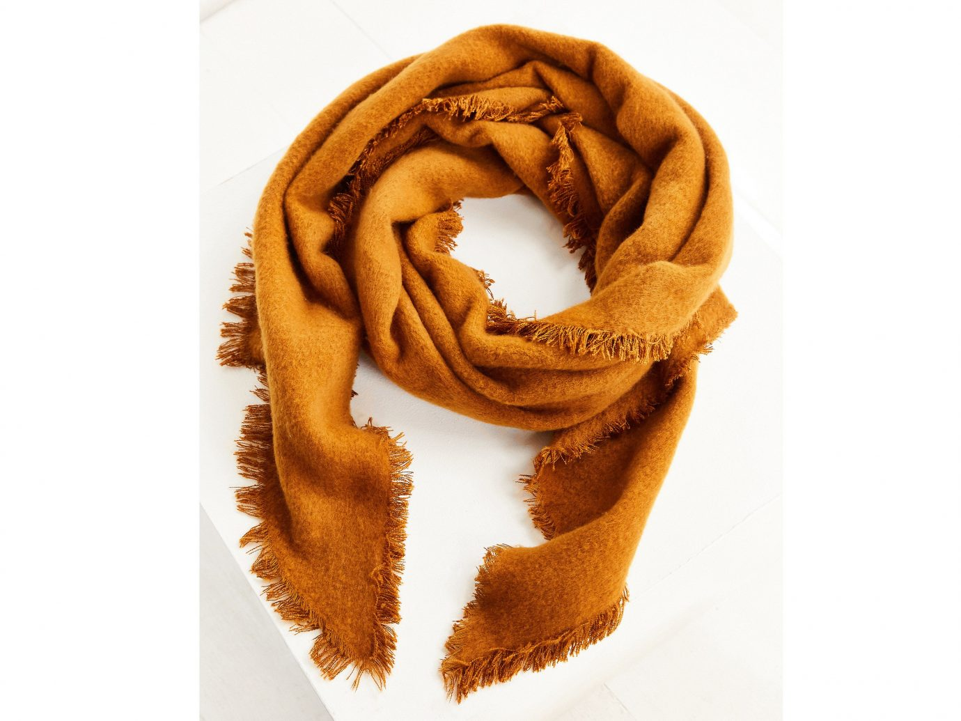 Style + Design clothing scarf brown fashion accessory orange pattern textile