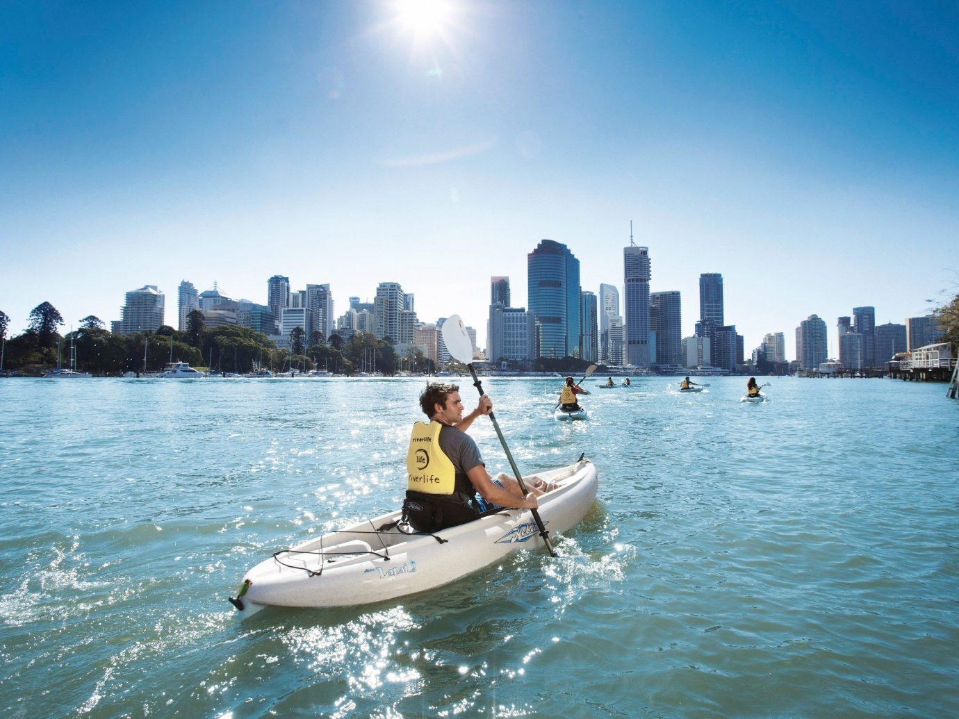 Trip Ideas water outdoor sky Boat vehicle boating watercraft kayak Sea Lake paddle sports equipment bay